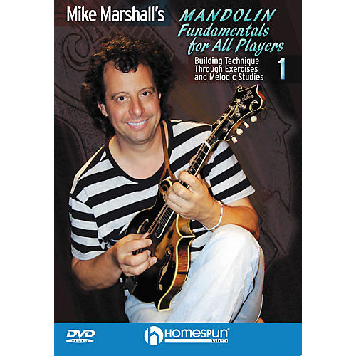 Homespun Mike Marshall's Mandolin Fundamentals For All Players DVD 1 thumbnail