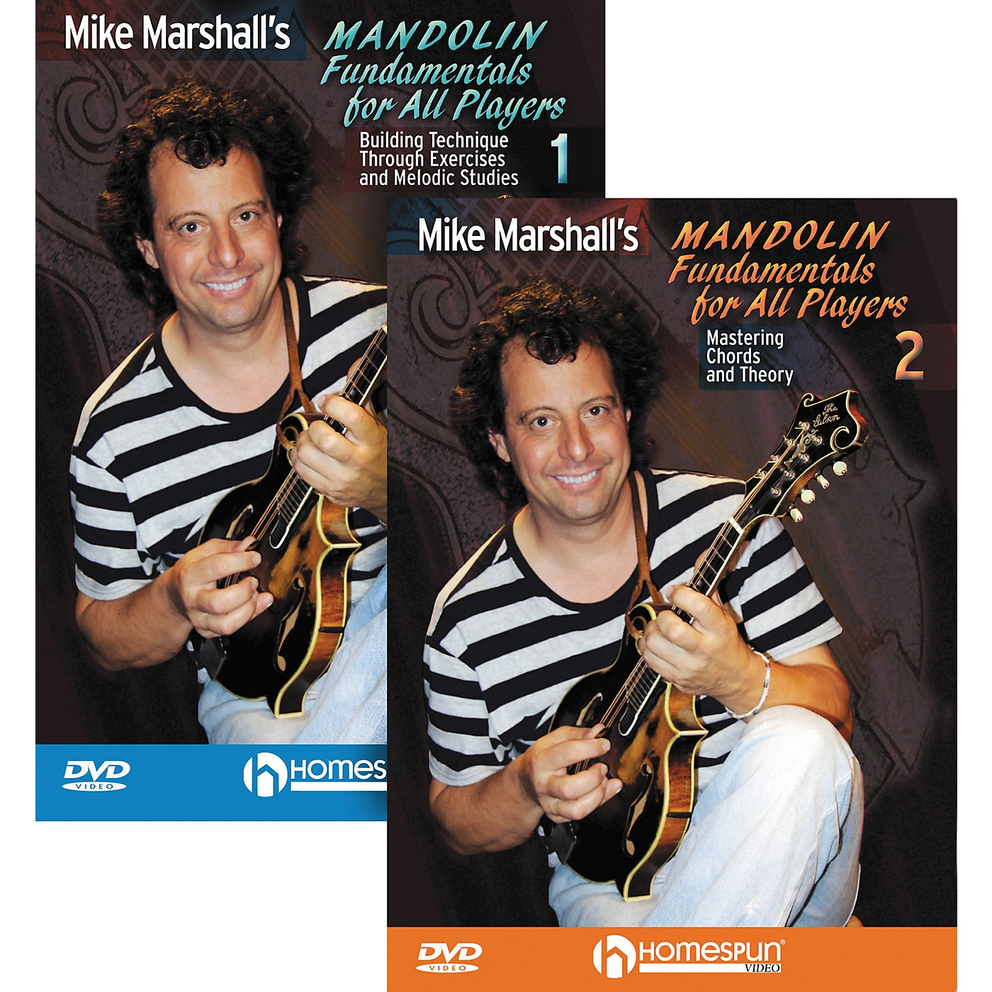 Homespun Mike Marshall's Mandolin Fundamentals for All Players (DVD) 1&2 thumbnail