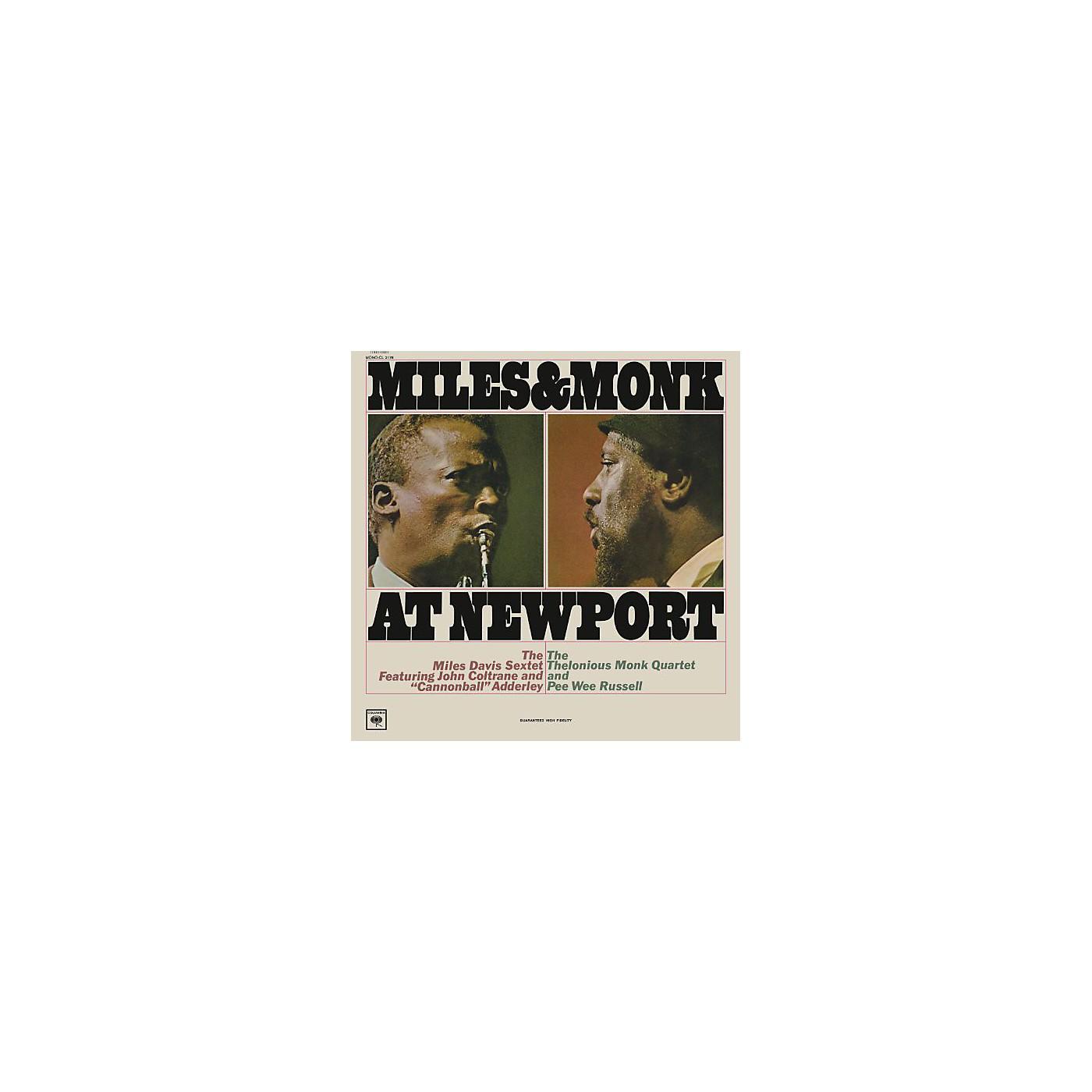 Alliance Miles Davis - Miles & Monk At Newport [Mono Vinyl] thumbnail