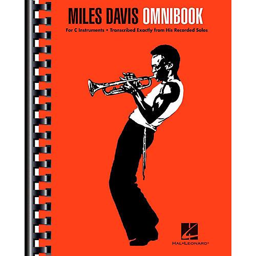 Hal Leonard Miles Davis Omnibook For C Instruments thumbnail