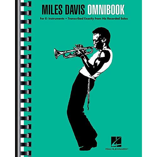 Hal Leonard Miles Davis Omnibook For E-Flat Instruments thumbnail
