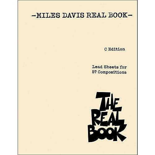 Hal Leonard Miles Davis Real Book thumbnail