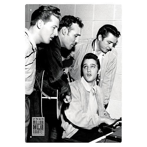 Hal Leonard Million Dollar Quartet - Tin Sign thumbnail