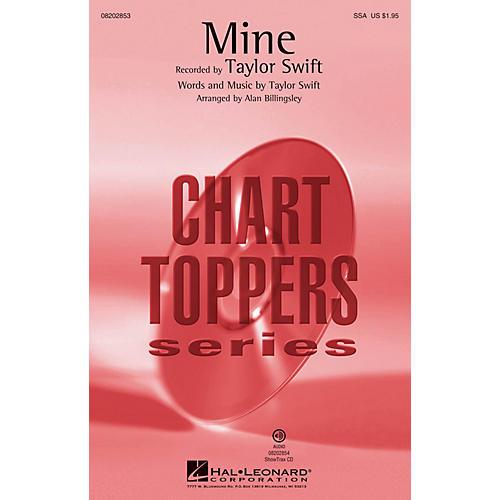 Hal Leonard Mine (ShowTrax CD) ShowTrax CD by Taylor Swift Arranged by Alan Billingsley thumbnail