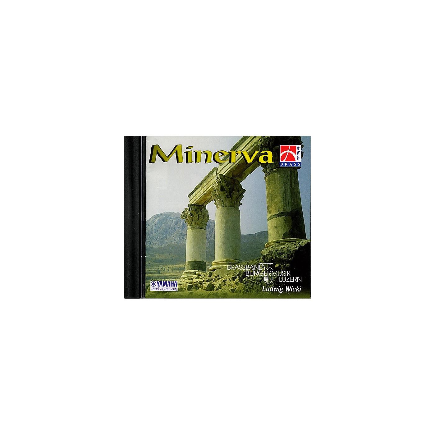 De Haske Music Minerva CD (De Haske Brass Band Sampler CD) De Haske Brass Band CD Series CD  by Various thumbnail