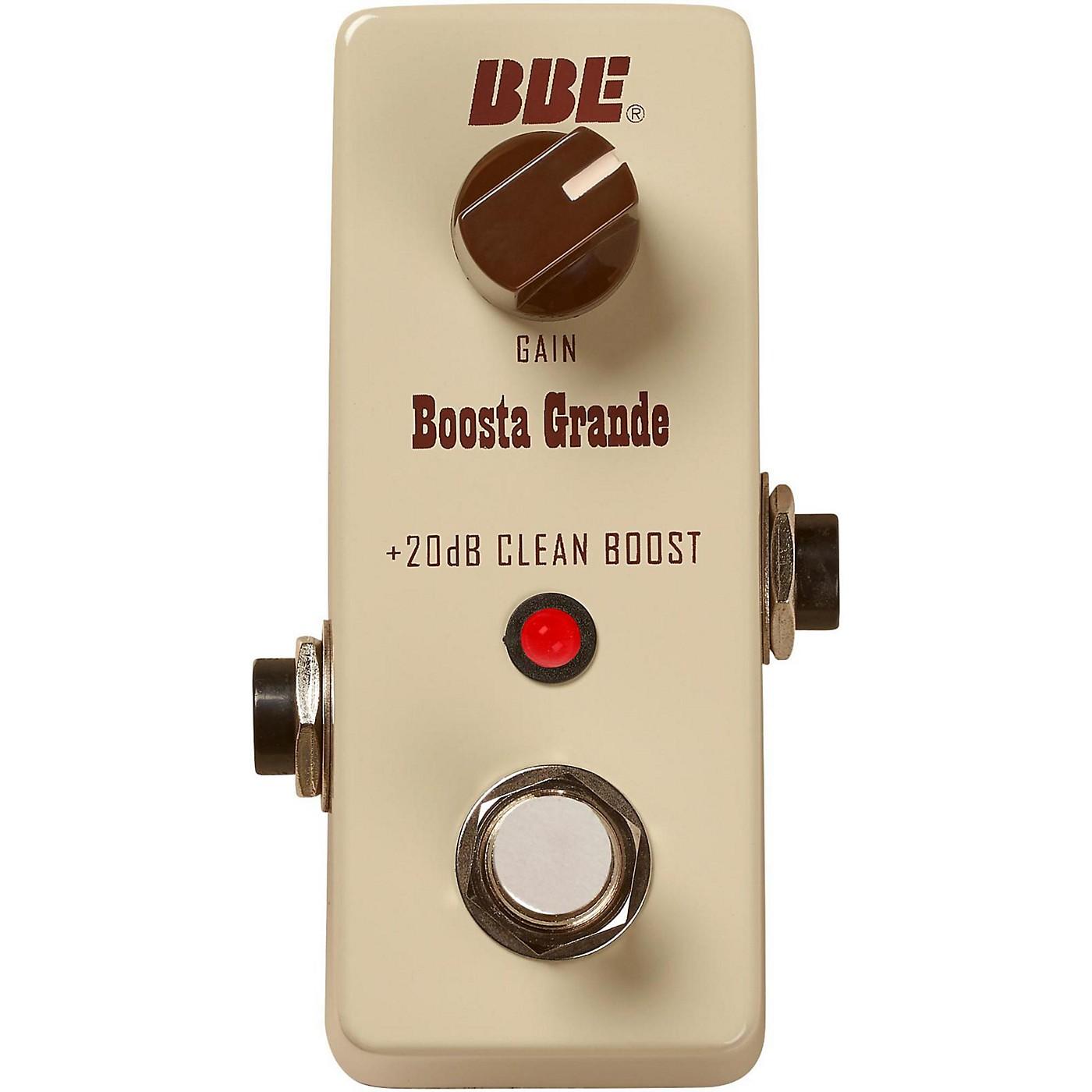 BBE Mini Boosta Grande Clean Boost Pedal thumbnail