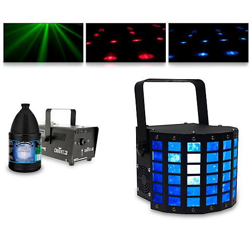 American DJ Mini Dekker with Hurricane 700 Fog Machine and Juice thumbnail