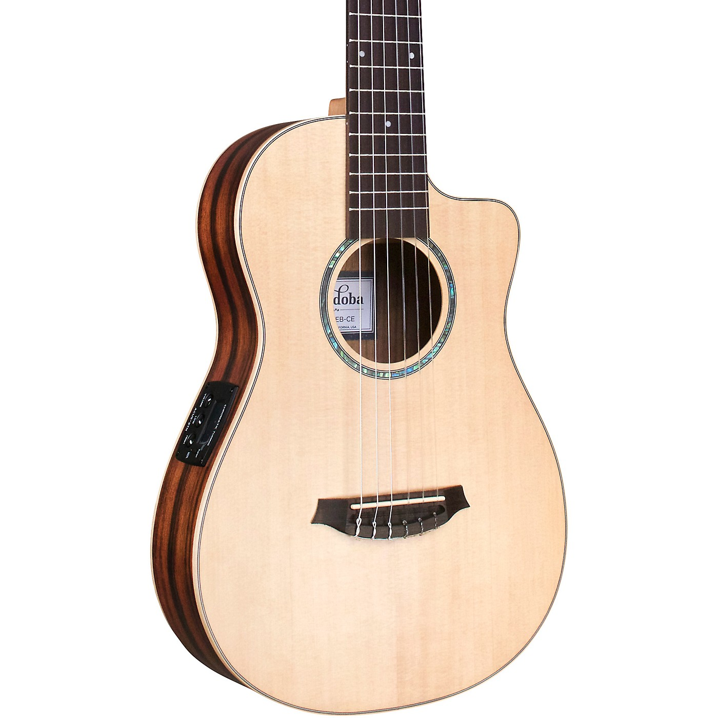 Cordoba Mini II EB-CE Mini Acoustic-Electric Guitar thumbnail