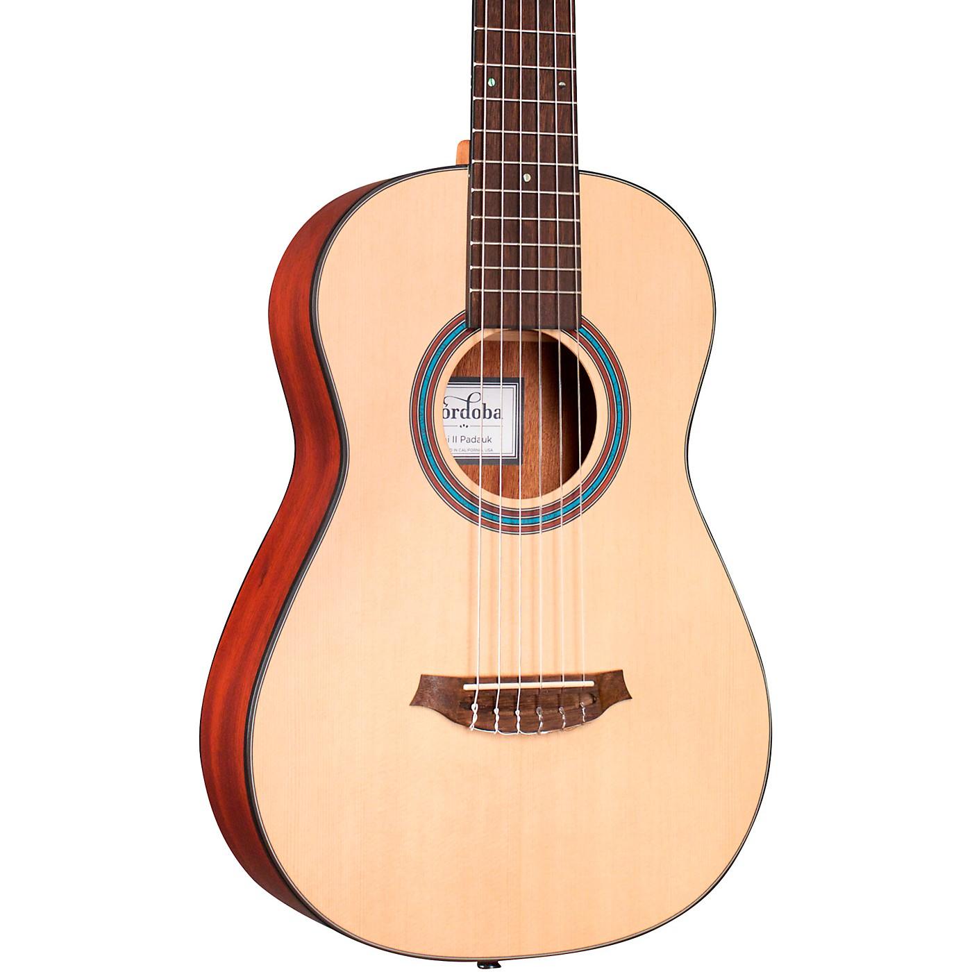 Cordoba Mini II Padauk Small Body Classical Guitar thumbnail