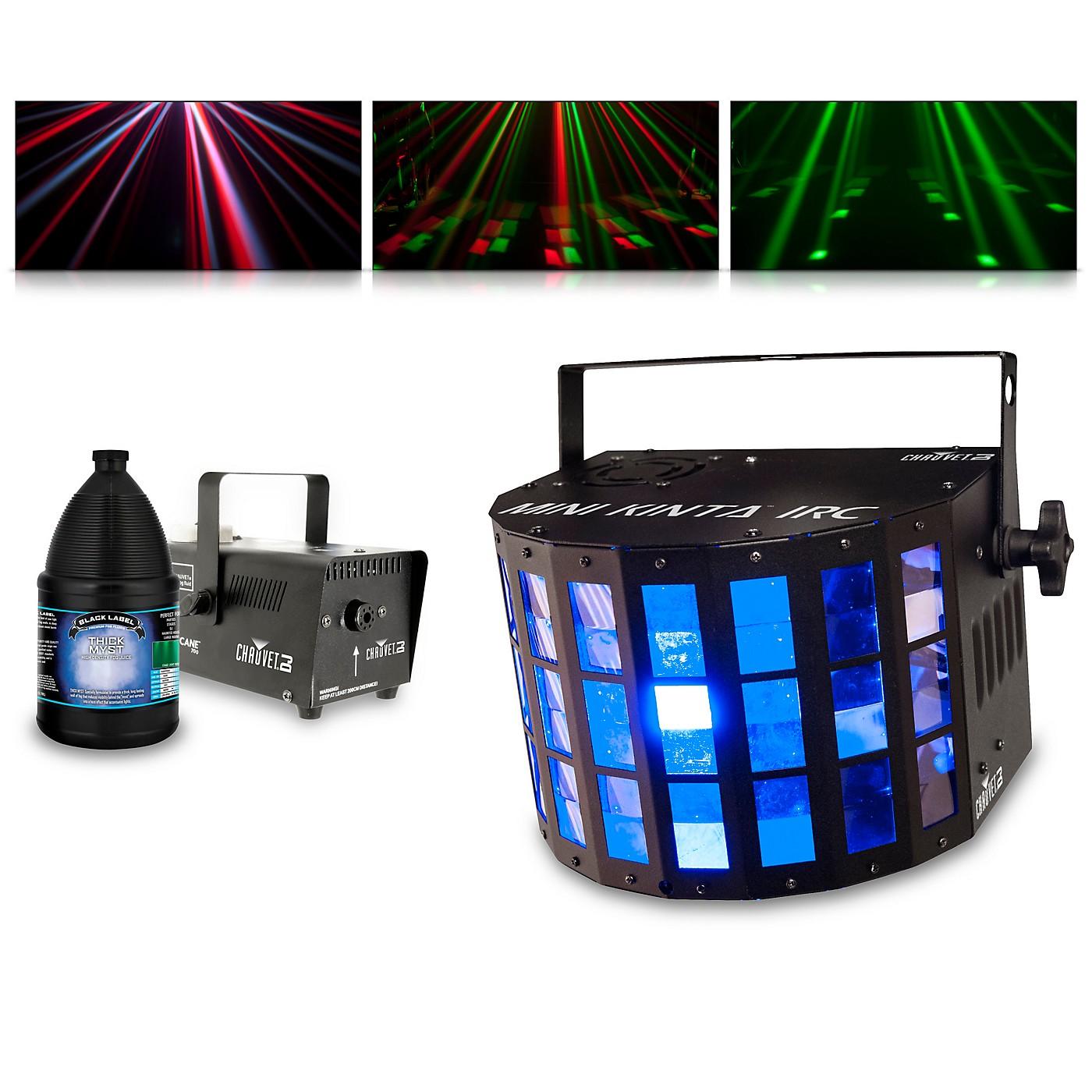 CHAUVET DJ Mini Kinta IRC with Hurricane 700 Fog Machine and Juice thumbnail