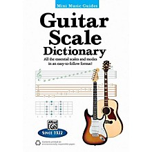 """Alfred Mini Music Guides: Guitar Scale Dictionary - 5"""" x 7"""" Book"""
