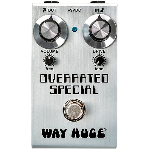 Way Huge Electronics Mini Overrated Special Overdrive Effects Pedal thumbnail