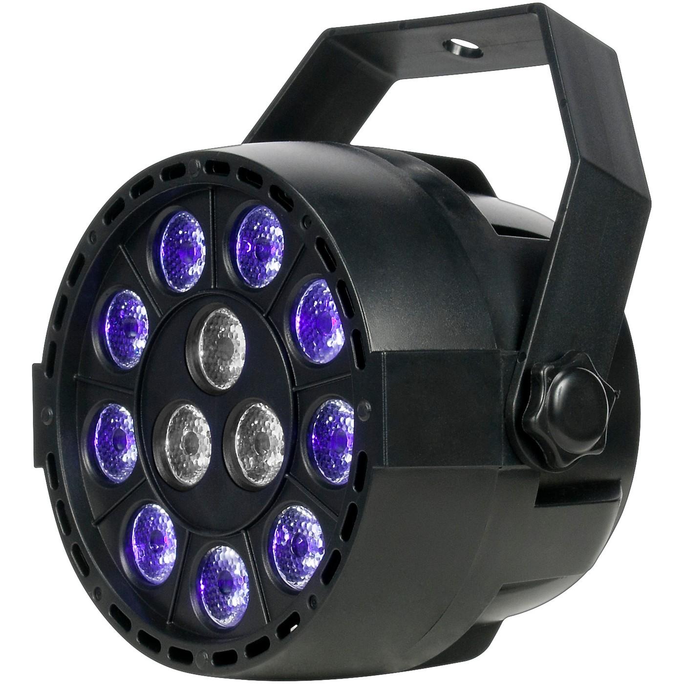 Eliminator Lighting Mini Par UVW LED Black Light with Strobe thumbnail