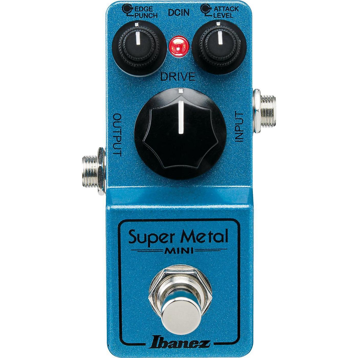 Ibanez Mini Super Metal Guitar Pedal thumbnail