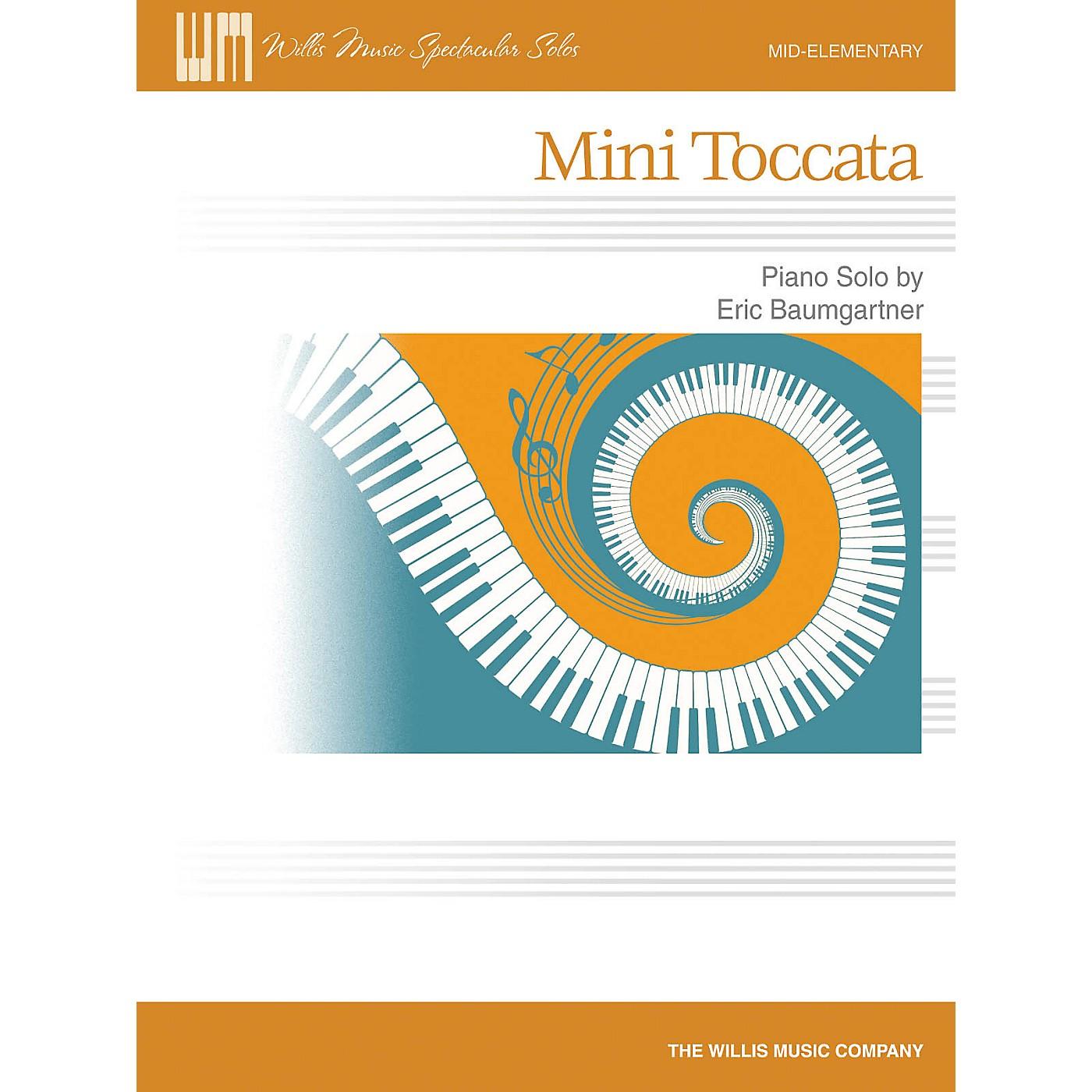 Willis Music Mini Toccata Willis Series by Eric Baumgartner (Level Mid-Elem) thumbnail