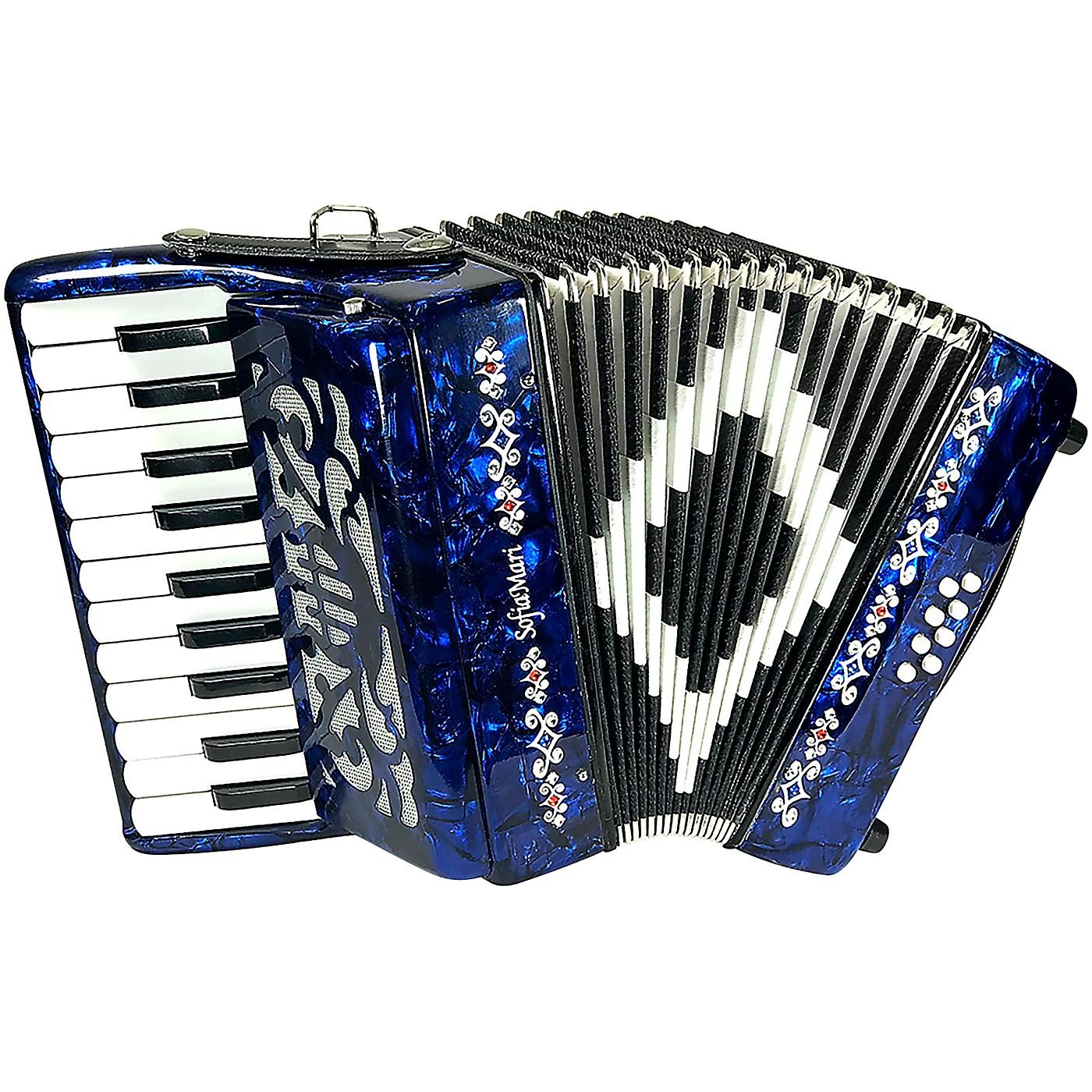 Sofiamari Mini Traveler Accordion - Dark Blue Pearl thumbnail
