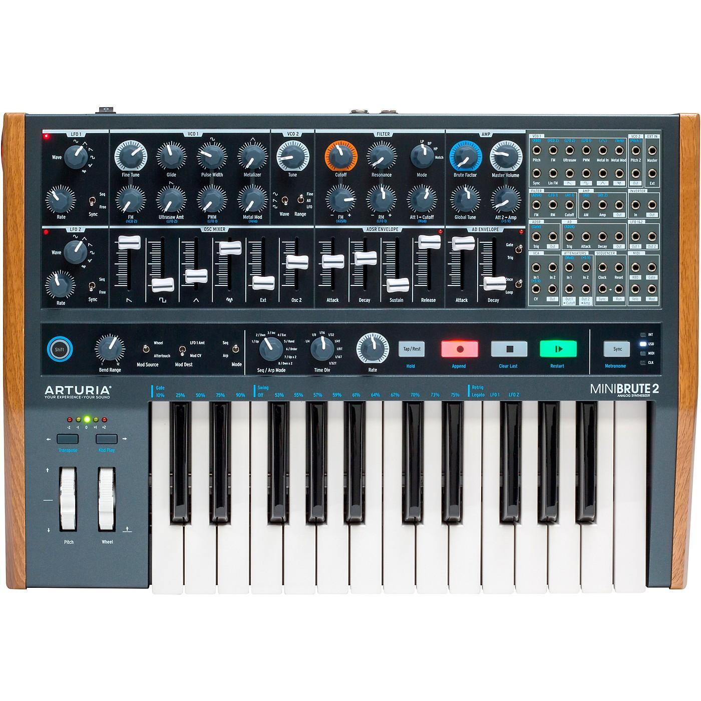 Arturia MiniBrute 2 Analog Synthesizer thumbnail