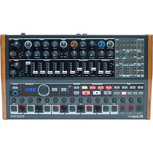 Arturia MiniBrute 2S Analog Desktop Synthesizer/Sequencer thumbnail