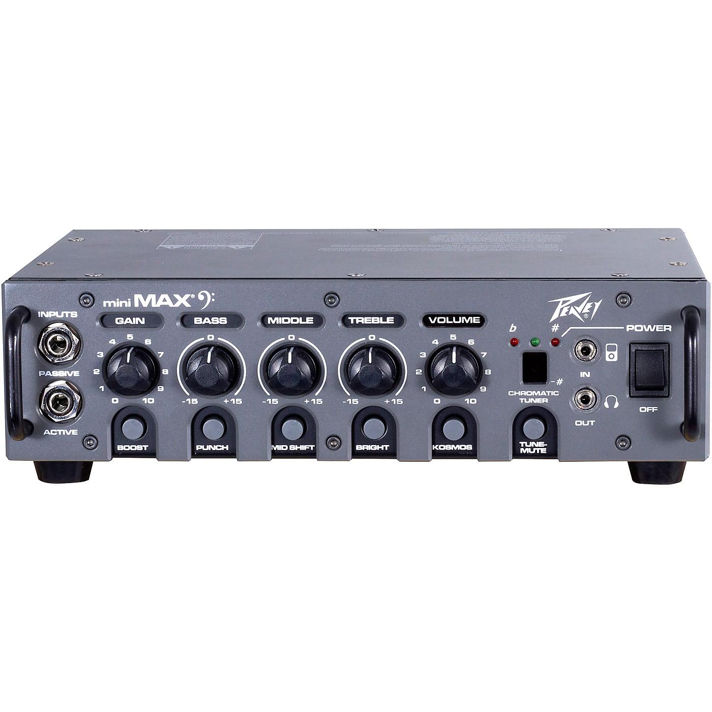 Peavey MiniMAX 500W Bass Amp head thumbnail