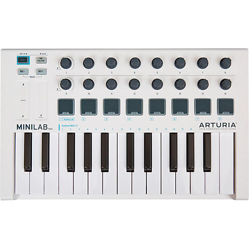 Arturia Minilab MKII Mini Hybrid Keyboard Controller-thumbnail