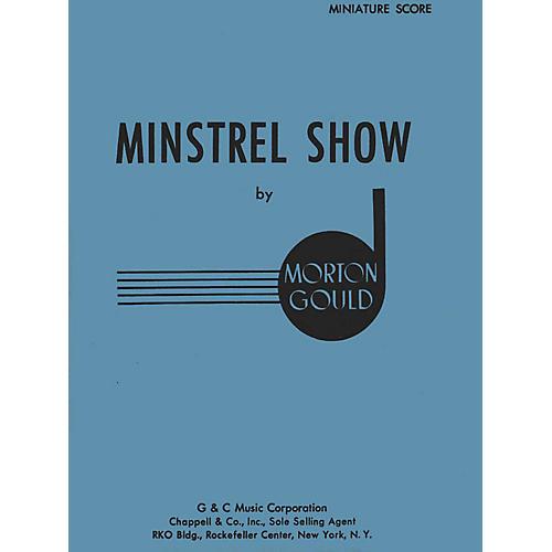 G. Schirmer Minstrel Show (Miniature Full Score) Study Score Series Composed by Morton Gould thumbnail