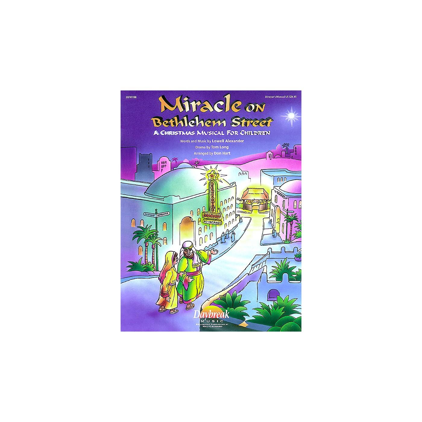 Daybreak Music Miracle on Bethlehem Street CHOIRTRAX CD Arranged by Don Hart thumbnail