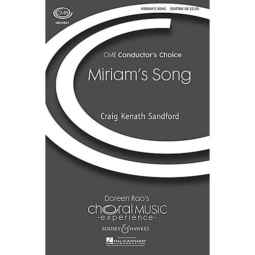 Boosey and Hawkes Miriam's Song Percussion Composed by Craig Kenath Sandford thumbnail