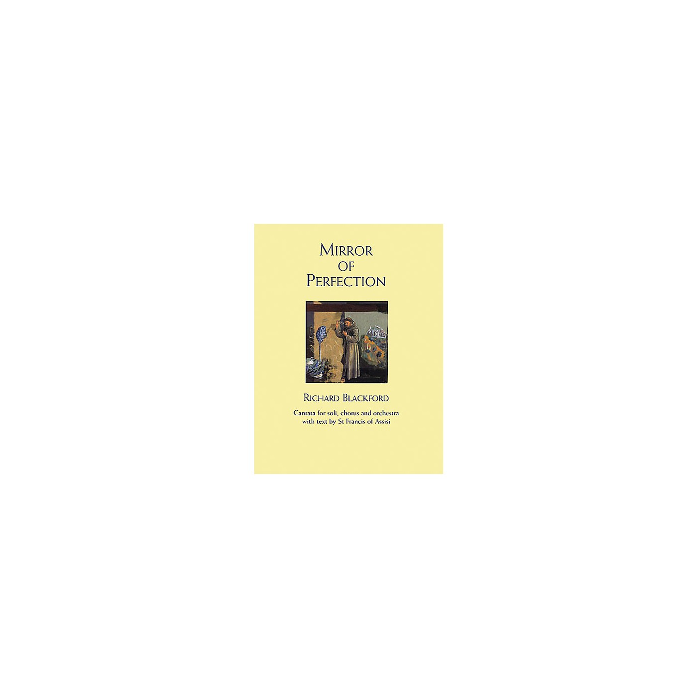 Novello Mirror of Perfection (Vocal Score) SATB Composed by Richard Blackford thumbnail