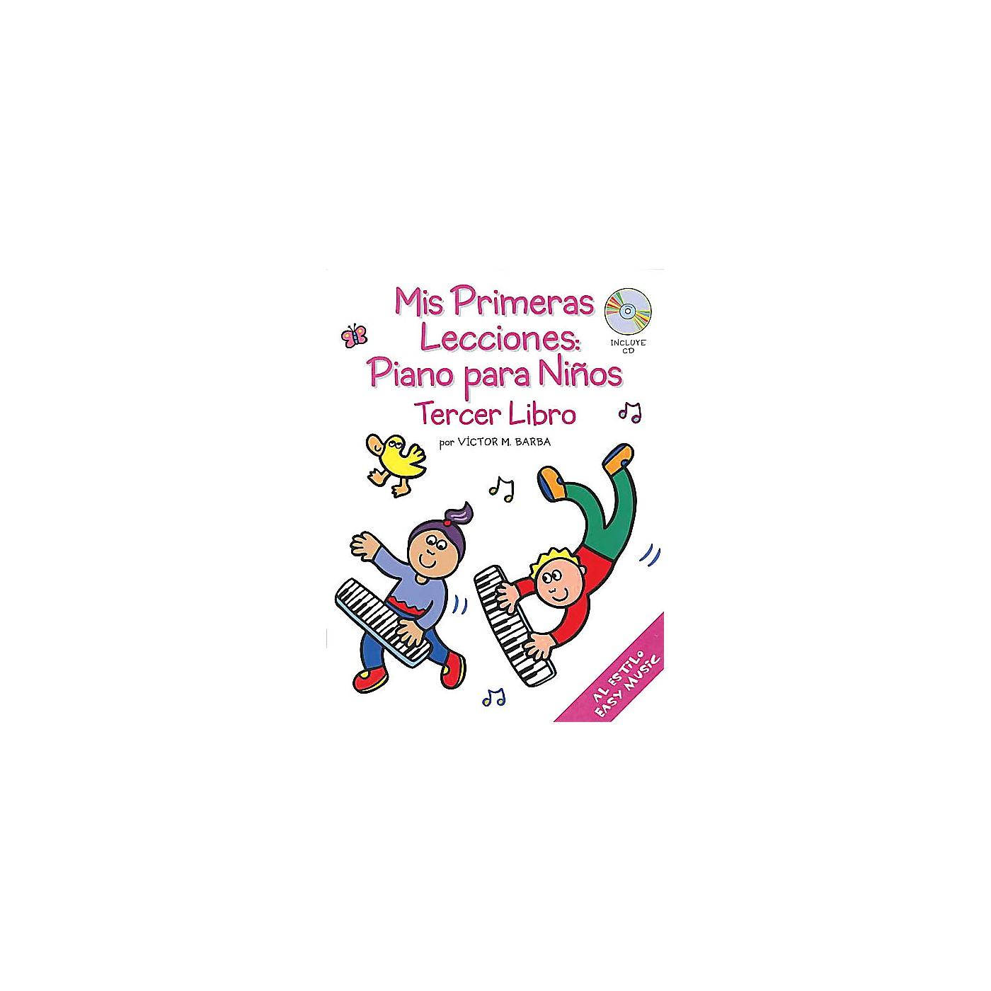 Music Sales Mis Primeras Lecciones: Piano Para Ni±os (Tercer Libro) Music Sales America BK/CD by Victor Barba thumbnail