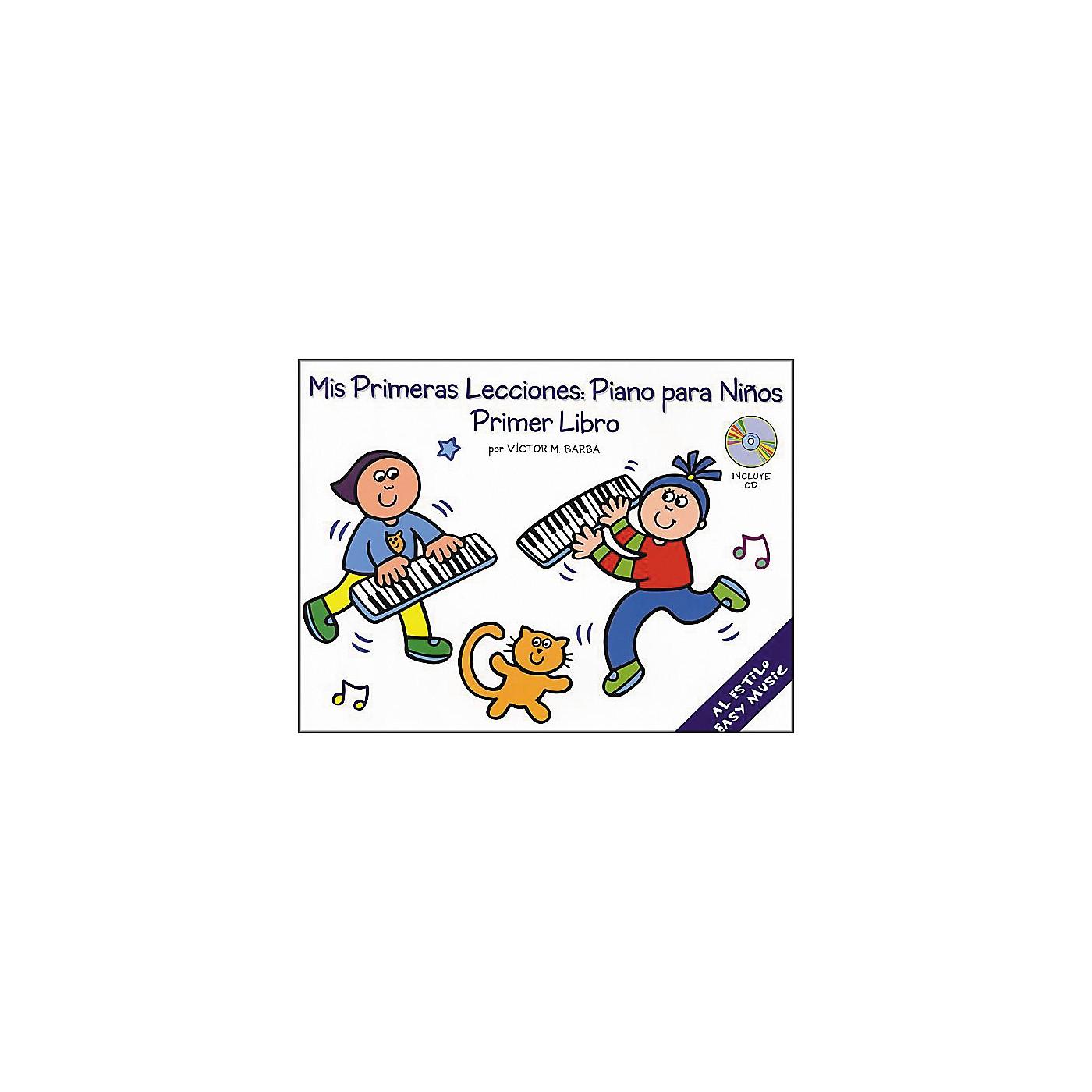 Music Sales Mis Primeras Lecciones Primer Libro (Book/CD) thumbnail