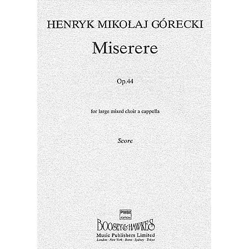 Chester Music Miserere, Op. 44 SSAATTBB Composed by Henryk Mikolaj Górecki thumbnail
