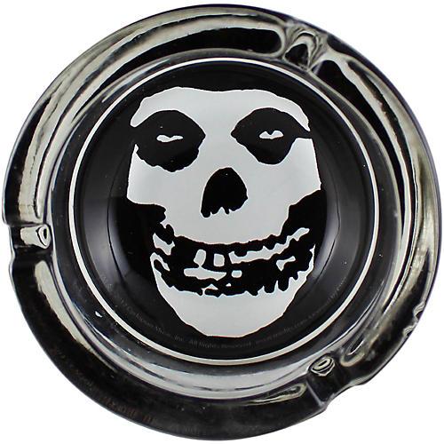 C&D Visionary Misfits Skull Glass Ashtray thumbnail