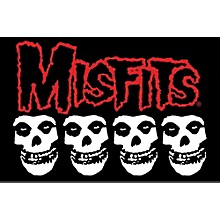 C&D Visionary Misfits Skull Pillow Cases