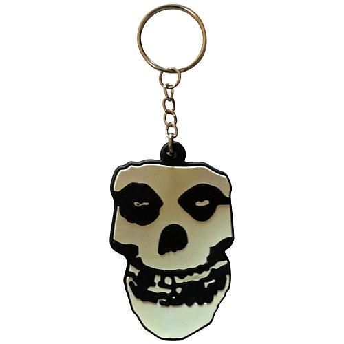 C&D Visionary Misfits Skull Rubber Key Chain thumbnail