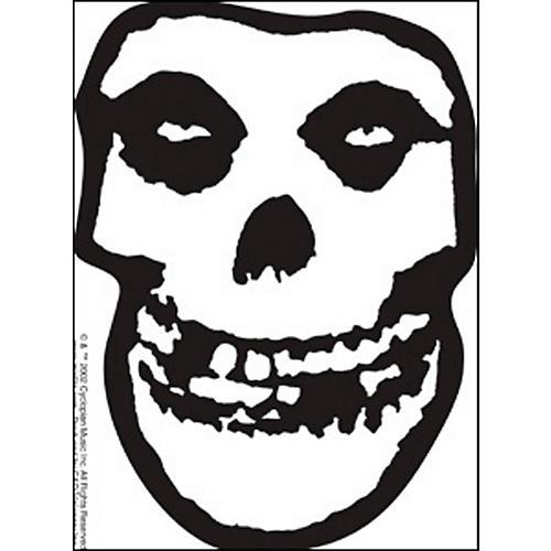 C&D Visionary Misfits Skull Sticker-thumbnail