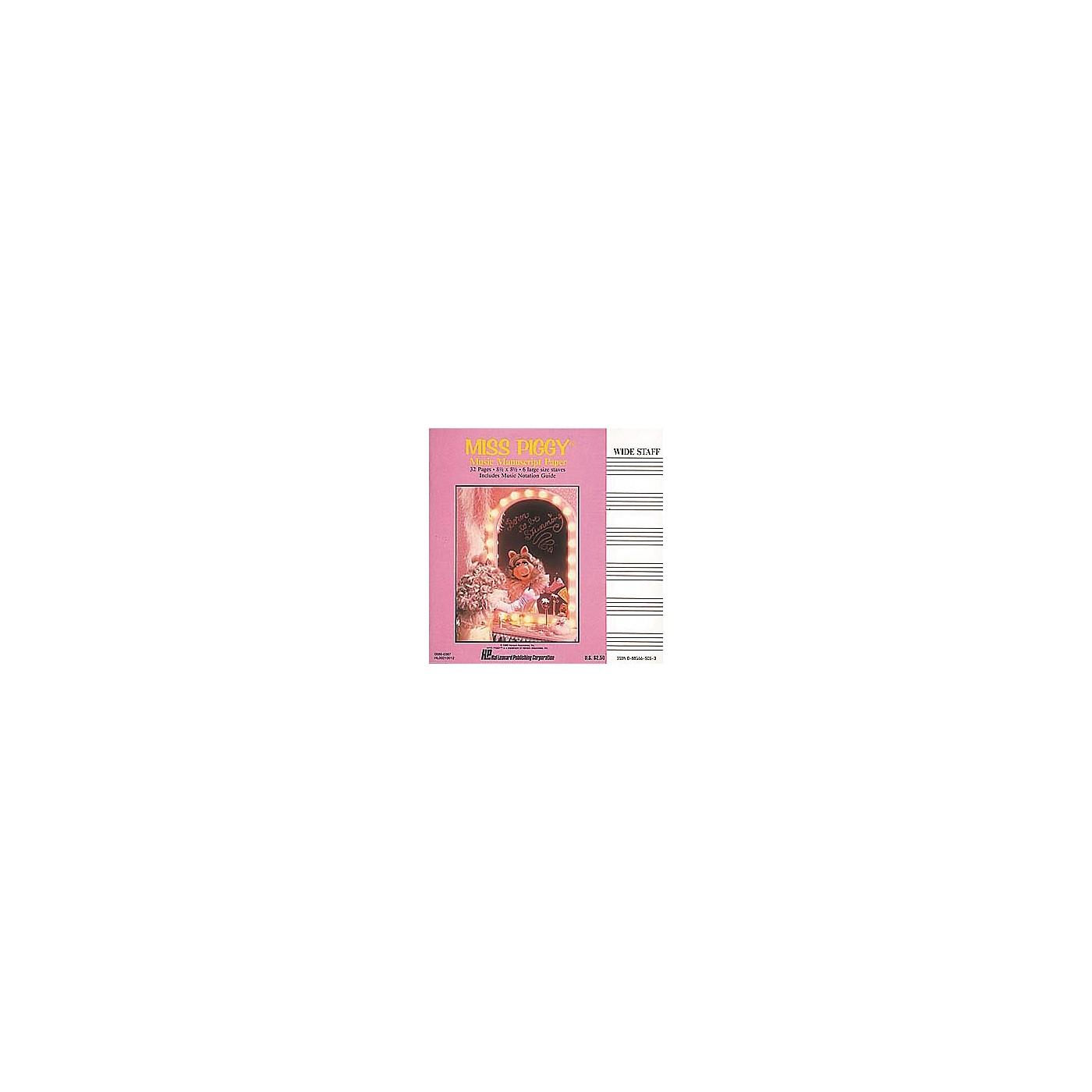 Hal Leonard Miss Piggy Manuscript Paper Book thumbnail