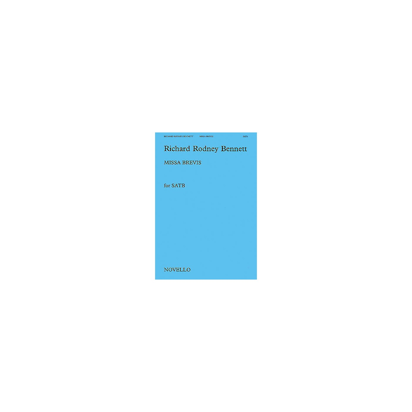 Novello Missa Brevis SATB Composed by Richard Rodney Bennett thumbnail