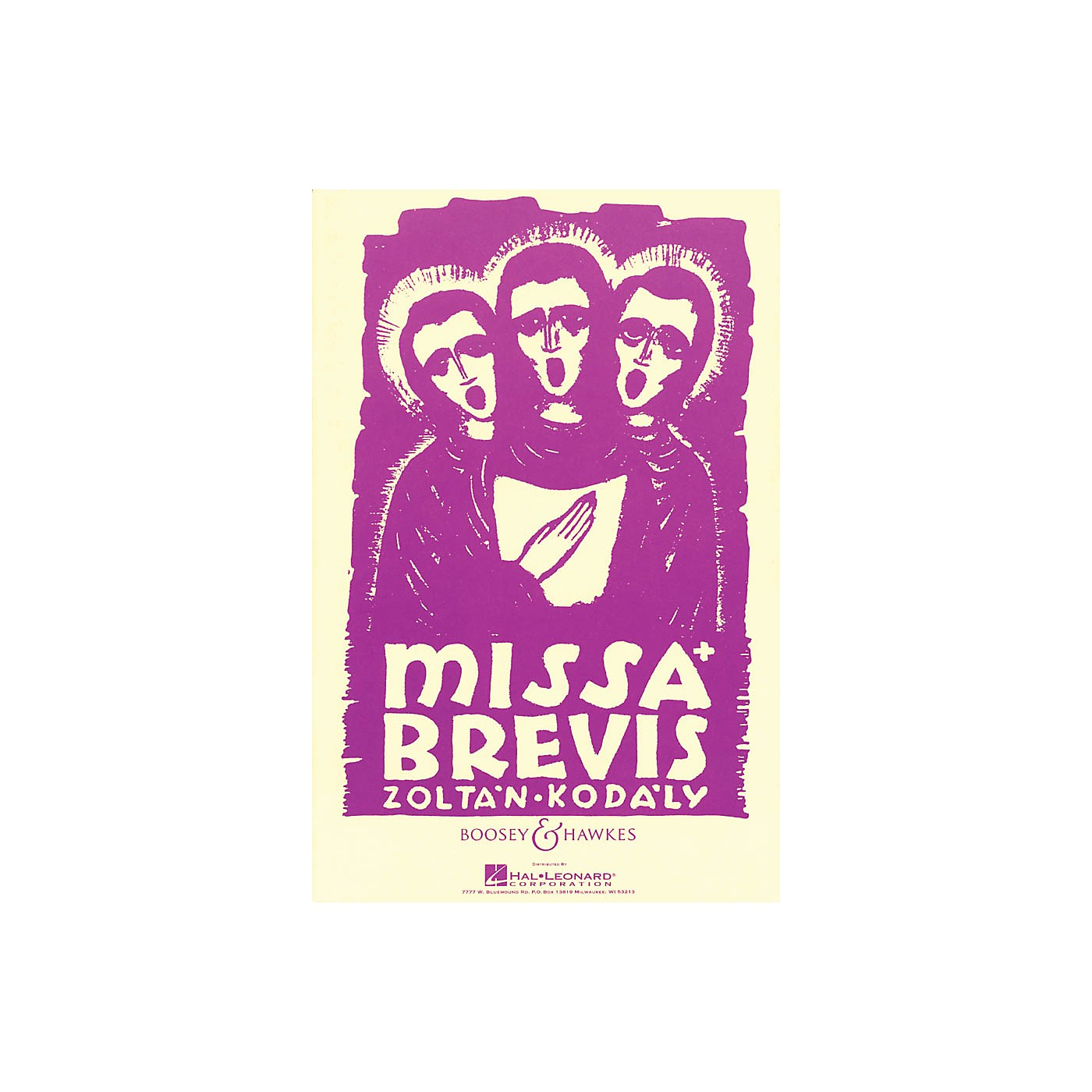 Boosey and Hawkes Missa Brevis (for Mixed Chorus and Organ or Orchestra) Vocal Score composed by Zoltan Kodaly thumbnail