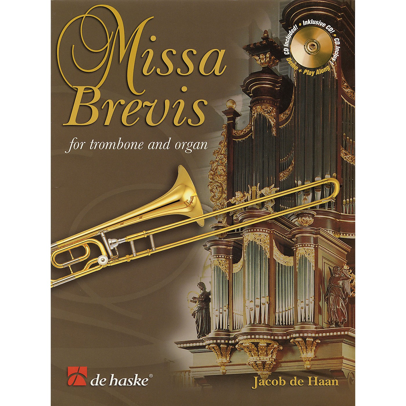 De Haske Music Missa Brevis (for Trombone and Organ) De Haske Play-Along Book Series thumbnail