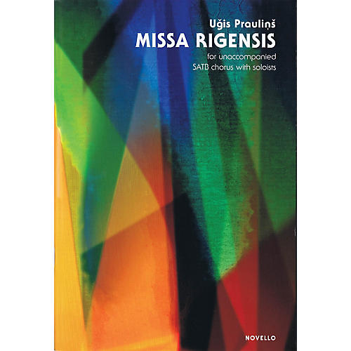 Novello Missa Rigensis (Unaccompanied SATB chorus with soloists) SATB Composed by Ugis Praulins thumbnail