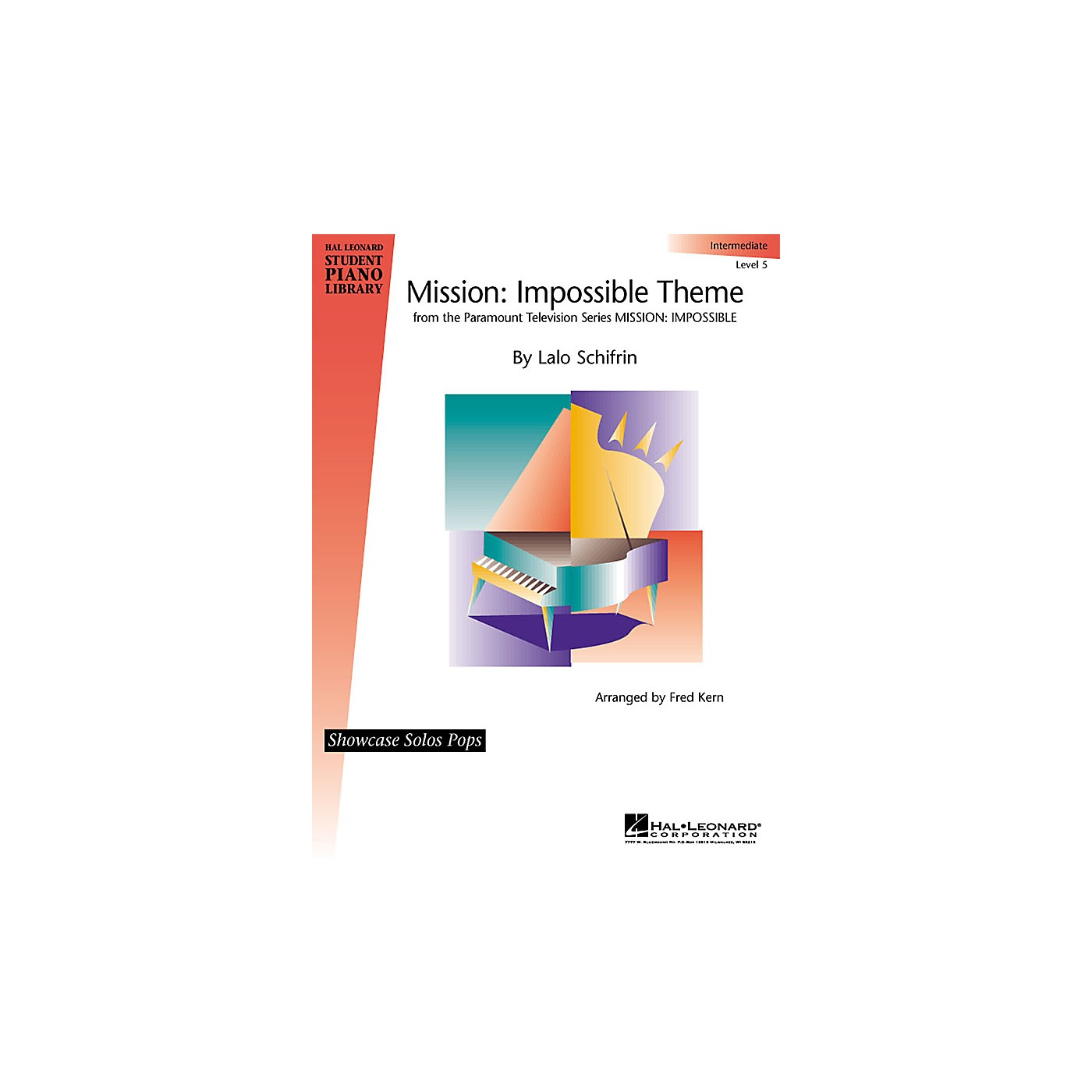 Hal Leonard Mission: Imposssible Educational Piano Solo Series (Level Inter) thumbnail