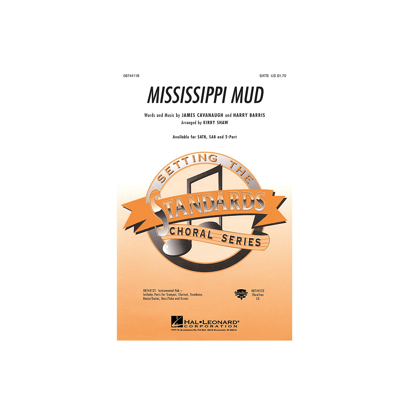 Hal Leonard Mississippi Mud IPAK Dixie Arranged by Kirby Shaw thumbnail