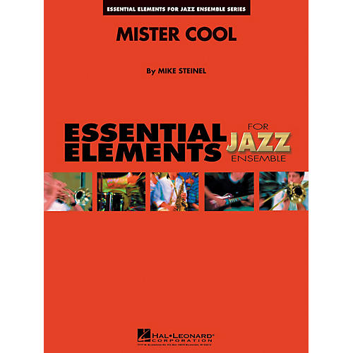 Hal Leonard Mister Cool Jazz Band Level 1-2 Composed by Mike Steinel thumbnail