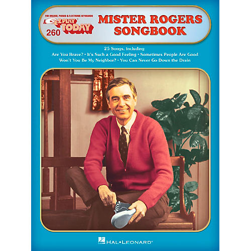 Hal Leonard Mister Rogers' Songbook E-Z Play Today Volume 260 thumbnail