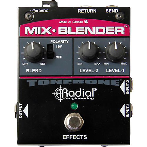 Radial Engineering Mix-Blender Dual Input Guitar With Effect Loop Pedal thumbnail