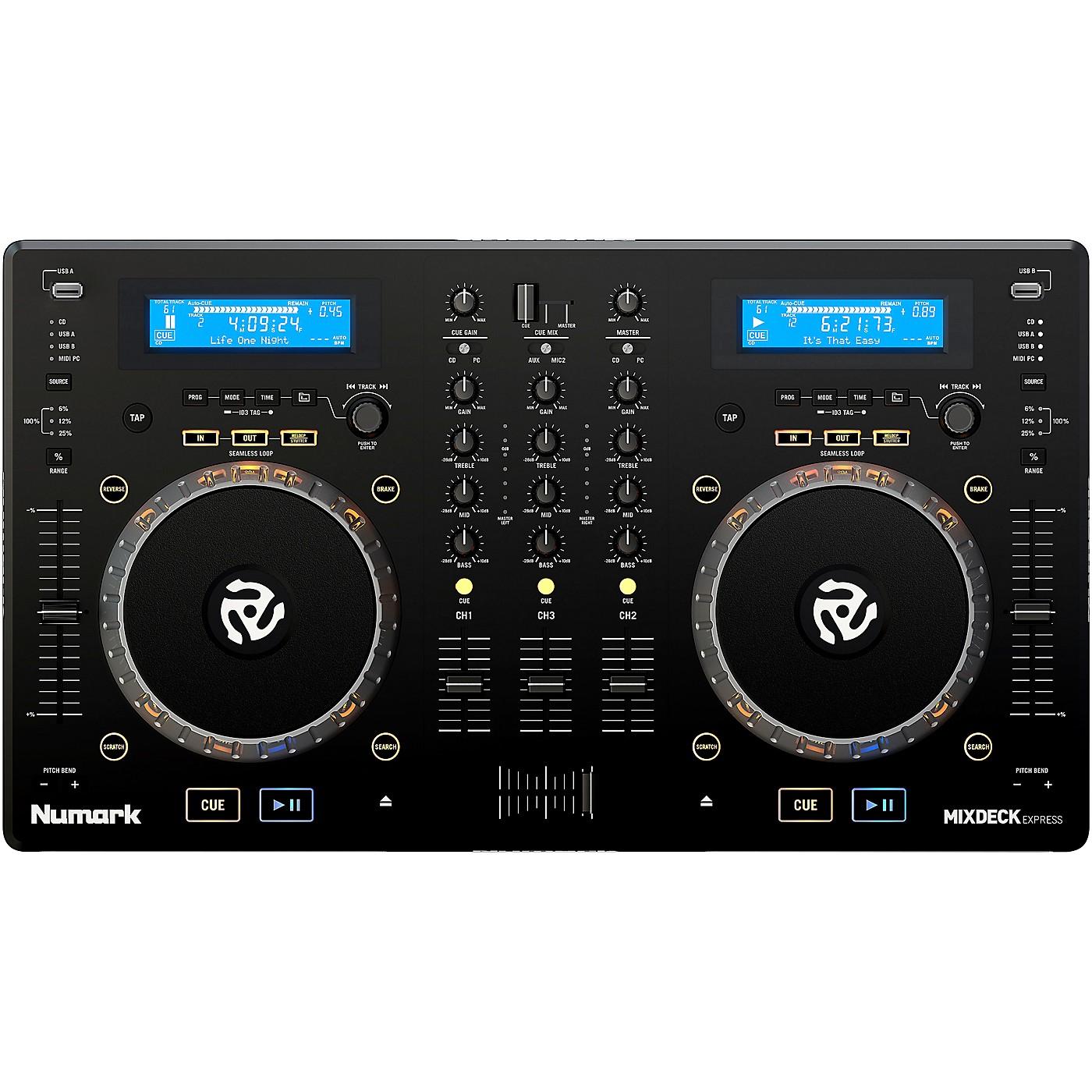Numark MixDeck Express Premium DJ Controller thumbnail