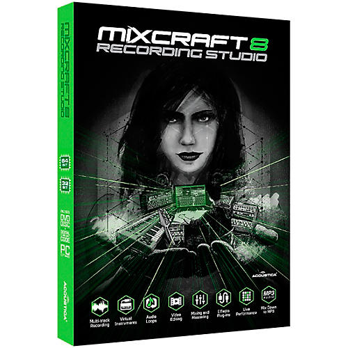Acoustica Mixcraft 8 Recording Studio Academic Edition - Box thumbnail