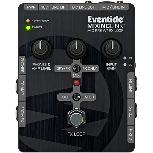 Eventide MixingLink Guitar Effects Pedals Mic Pre with FX Loop thumbnail