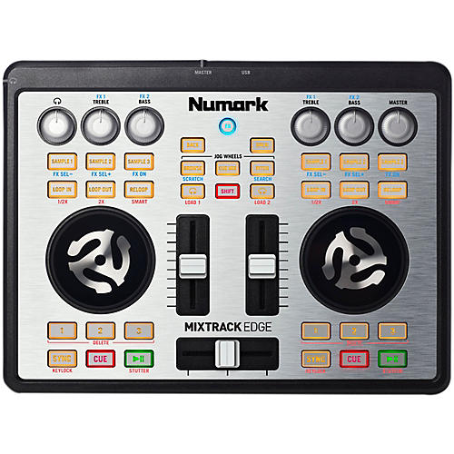 Numark Mixtrack Edge Slimline USB-powered DJ Controller thumbnail