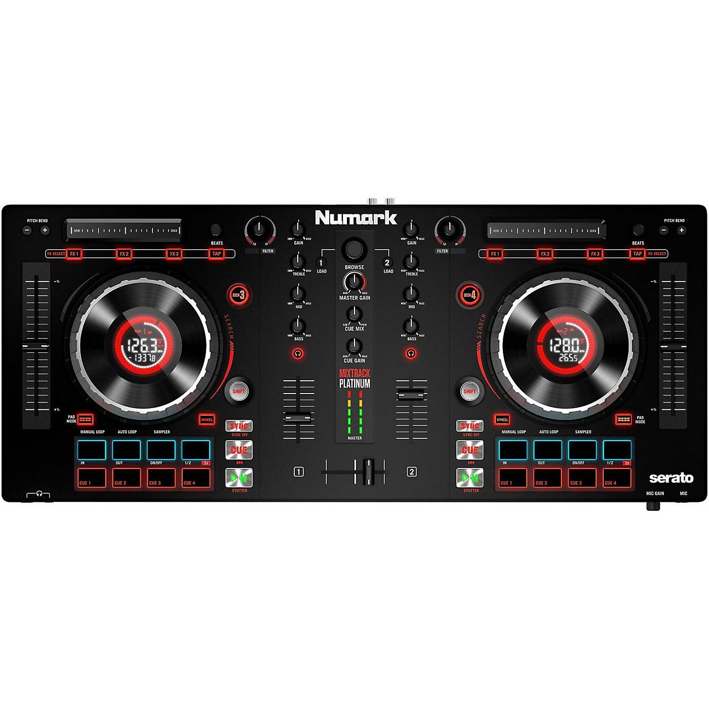 Numark Mixtrack Platinum DJ Controller thumbnail